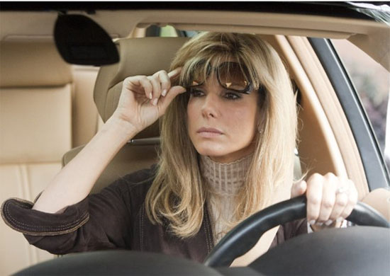 Sandra Bullock in a scene from the 2009 film, 'The Blind Side.'
