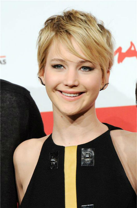 "<div class=""meta ""><span class=""caption-text "">Jennifer Lawrence appears at a photo call for 'The Hunger Games: Catching Fire' during the 2013 Rome Film Festival in Rome, Italy on Nov. 14, 2013. (Eric Vandeville / Startraksphoto.com)</span></div>"