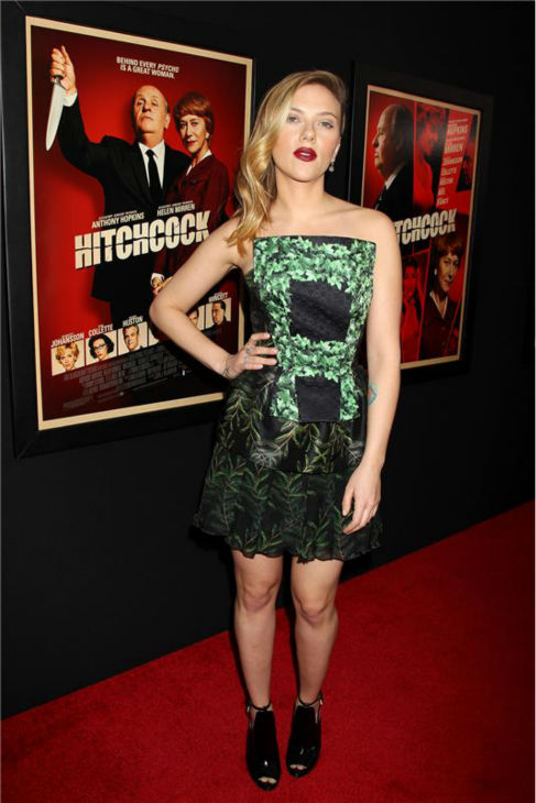 Scarlett Johansson attends the premiere of &#39;Hitchcock&#39; in New York on Nov. 18, 2012. <span class=meta>(Dave Allocca &#47; Startraksphoto.com)</span>