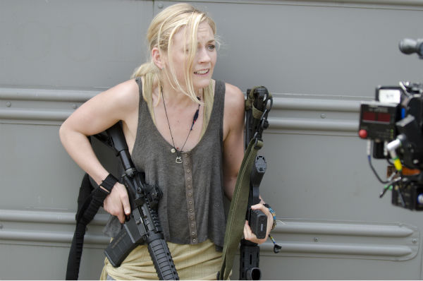 Emily Kinney &#40;Beth Greene&#41; appears on the set of AMC&#39;s &#39;The Walking Dead&#39;s season 4 midseason finale, which aired on Dec. 1, 2013. <span class=meta>(Gene Page &#47; AMC)</span>