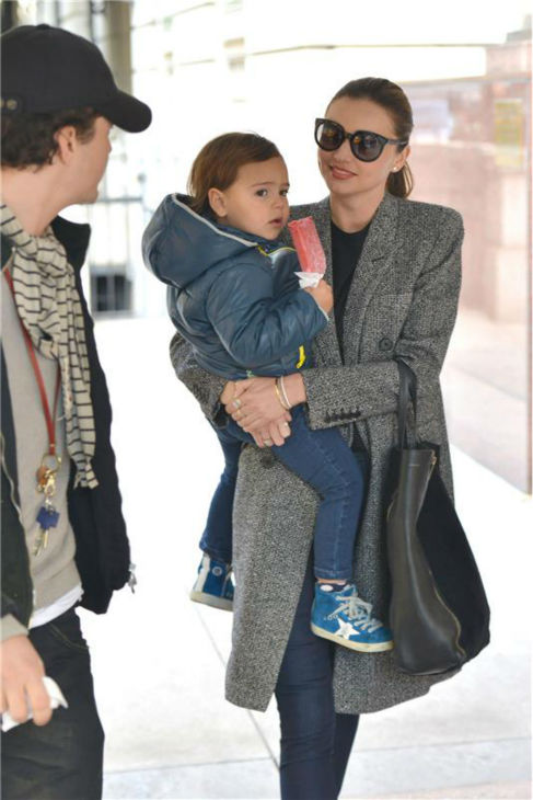 "<div class=""meta ""><span class=""caption-text "">Orlando Bloom appears with wife Miranda Kerr and their son Flynn, 2, in New York City on Oct. 26, 2013. The actor's rep confirmed to OTRC.com a day earlier that the two had separated months ago. (Eagle Press / Startraksphoto.com)</span></div>"