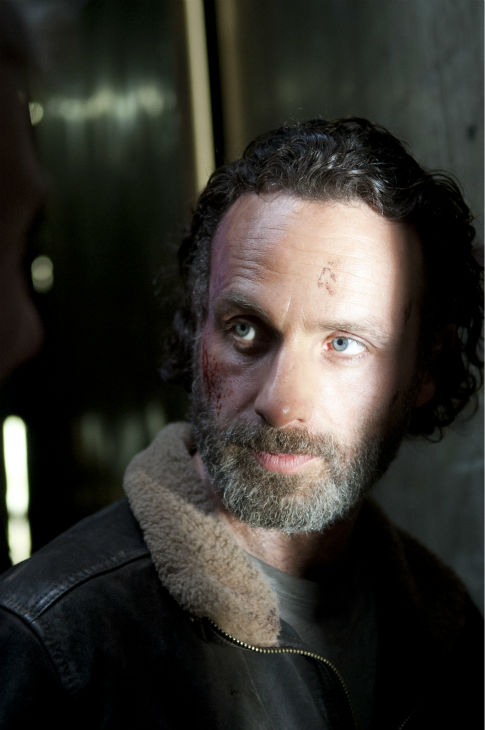 Rick Grimes &#40;Andrew Lincoln&#41; appears in a scene from AMC&#39;s &#39;The Walking Dead&#39; season 4 finale, which aired on March 30, 2014. <span class=meta>(Gene Page &#47; AMC)</span>