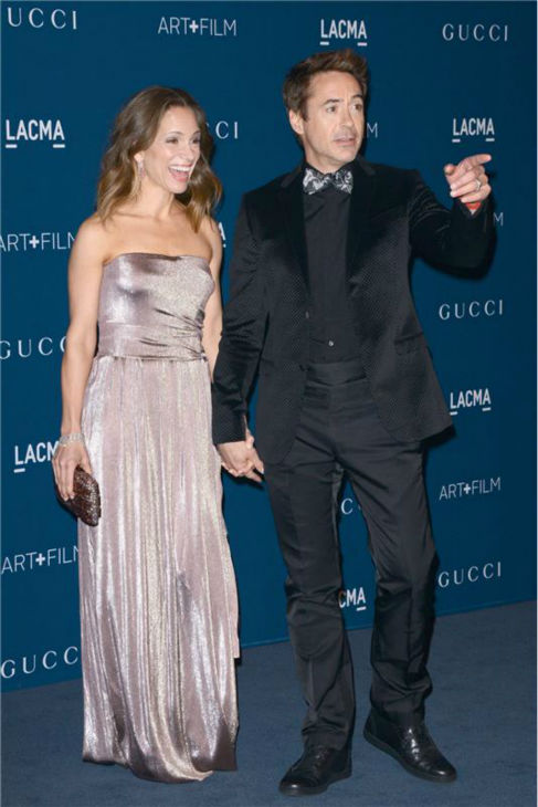 Robert Downey Jr. and wife Susan Downey appear at the LACMA Art and Film Gala, honoring Martin Scorsese And David Hockney, at the Los Angeles County Museum of Art on Nov. 2, 2013.startraksphoto.com <span class=meta>(Lionel Hahn &#47; AbacaUSA &#47; Startraksphoto.com)</span>