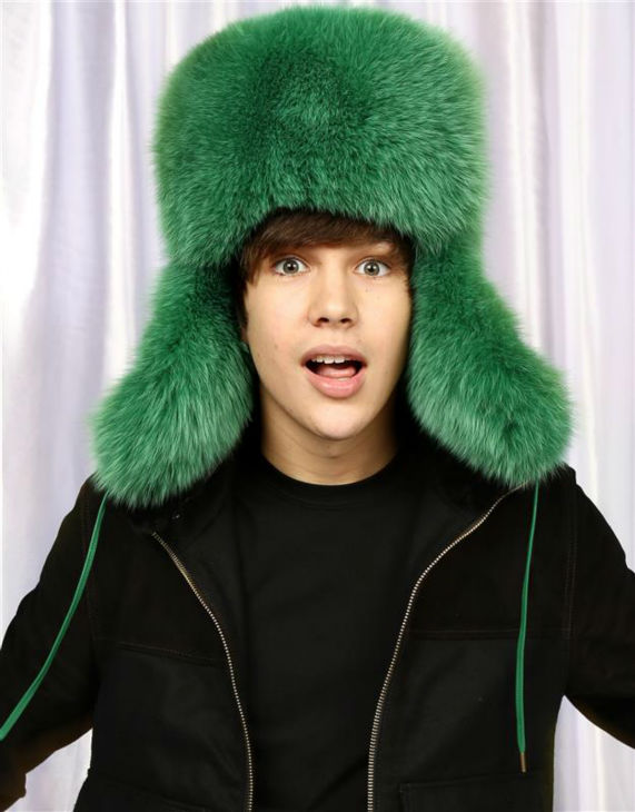 Pop singer Austin Mahone poses in a holiday-themed photo booth at Z100&#39;s Jingle Ball 2013 on Dec. 13, 2013, just before Christmas. <span class=meta>(Sara Jaye Weiss  &#47; Startraksphoto.com)</span>