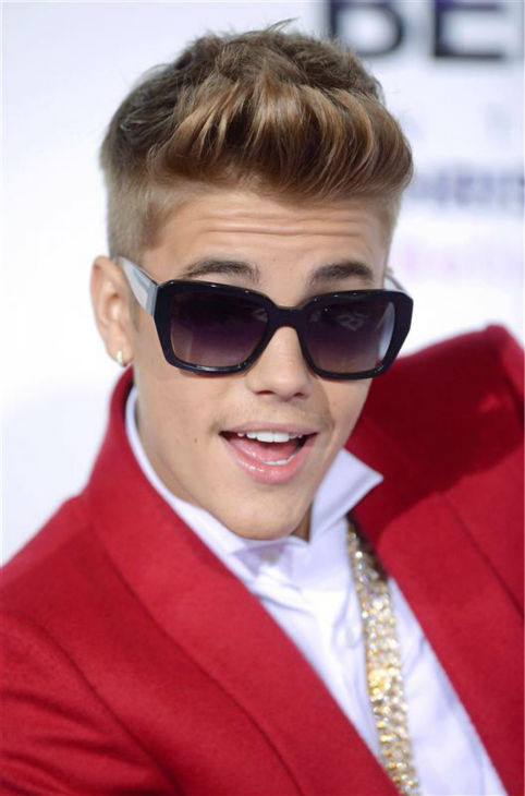 Justin Bieber appears at the premiere of his new documentary movie, 'Believe,' at Regal Cinemas L.A. Live in downtown Los Angeles on Wednesday, Dec. 18, 2013.