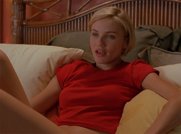 Cameron Diaz appears in a scene from the 1998 film, 'There's Something About Mary.'