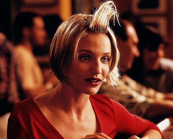 Cameron Diaz appears in a scene from the 1998 movie 'There's Something About Mary.'
