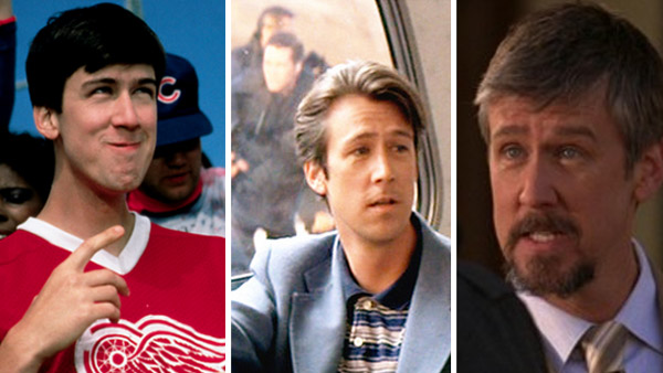 Alan Ruck appears in a scene from the 1986 movie 'Ferris Bueller's Day Off.' / Alan Ruck appears in a scene from the 1994 movie 'Speed.' / Alan Ruck appears in a scene from the series 'Greek.'