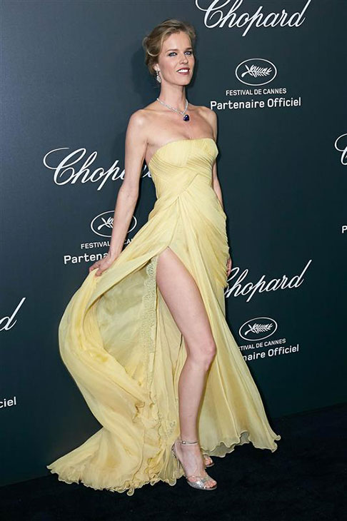 Supermodel Eva Herzigova appears at a Chopard party at the Cannes Film Festival in France on May 20, 2014. <span class=meta>(Alexander Tuma &#47; Startraksphoto.com)</span>
