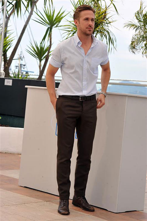 Ryan Gosling appears at a photo call for the movie &#39;Lost River&#39; at the Cannes Film Festival in France on May 20, 2014. <span class=meta>(Camilla Morandi &#47; IPA &#47; Startraksphoto.com)</span>