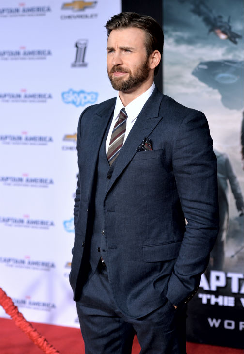 "<div class=""meta ""><span class=""caption-text "">Chris Evans attends the premiere of Marvel's 'Captain America: The Winter Soldier' at the El Capitan Theatre in Hollywood, California on March 13, 2014. He plays Captain America. (Alberto E. Rodriguez / Getty Images for Disney)</span></div>"