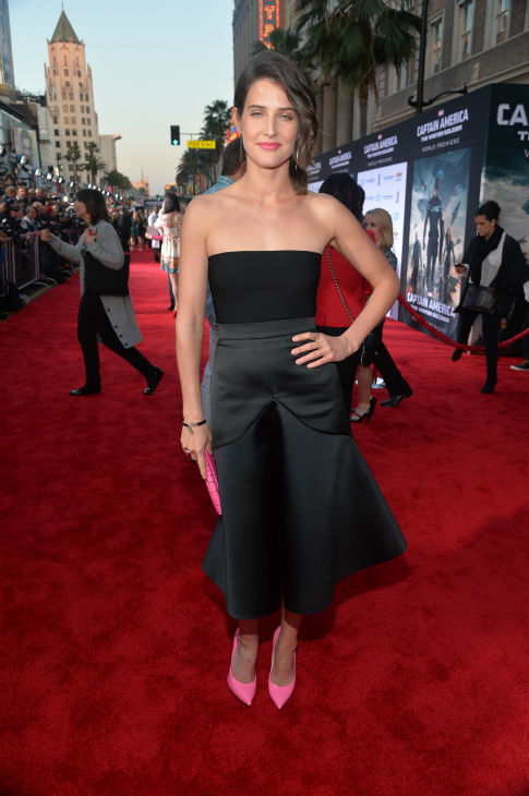 "<div class=""meta image-caption""><div class=""origin-logo origin-image ""><span></span></div><span class=""caption-text"">Cast member Cobie Smulders (also known for her role on CBS' 'How I Met Your Mother') attends the premiere of Marvel's 'Captain America: The Winter Soldier' at the El Capitan Theatre in Hollywood, California on March 13, 2014. (Alberto E. Rodriguez / Getty Images for Disney)</span></div>"