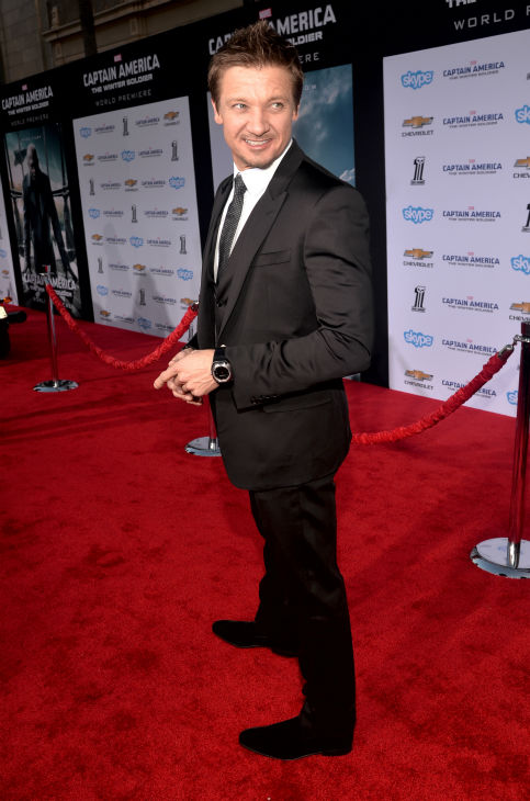 "<div class=""meta ""><span class=""caption-text "">Jeremy Renner (Hawkeye in the 'Avengers' movies) attends the premiere of Marvel's 'Captain America: The Winter Soldier' at the El Capitan Theatre in Hollywood, California on March 13, 2014. (Alberto E. Rodriguez / Getty Images for Disney)</span></div>"