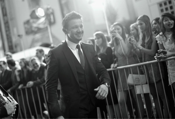 Jeremy Renner &#40;Hawkeye in the &#39;Avengers&#39; movies&#41; attends the premiere of Marvel&#39;s &#39;Captain America: The Winter Soldier&#39; at the El Capitan Theatre in Hollywood, California on March 13, 2014. <span class=meta>(Charley Gallay &#47; Getty Images for Disney)</span>