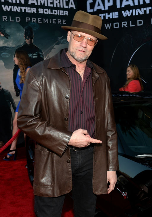 Michael Rooker &#40;played Merle Dixon on AMC&#39;s &#39;The Walking Dead,&#39; stars as Yondu in the 2014 Marvel movie &#39;Guardians Of The Galaxy&#39;&#41; attends the premiere of Marvel&#39;s &#39;Captain America: The Winter Soldier&#39; at the El Capitan Theatre in Hollywood, California on March 13, 2014. <span class=meta>(Alberto E. Rodriguez &#47; Getty Images for Disney)</span>
