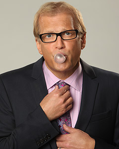 Drew Carey in a promotional still for the long running game show, 'The Price is Right.'