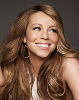 Promotional still of Mariah Carey from her personal Facebook.