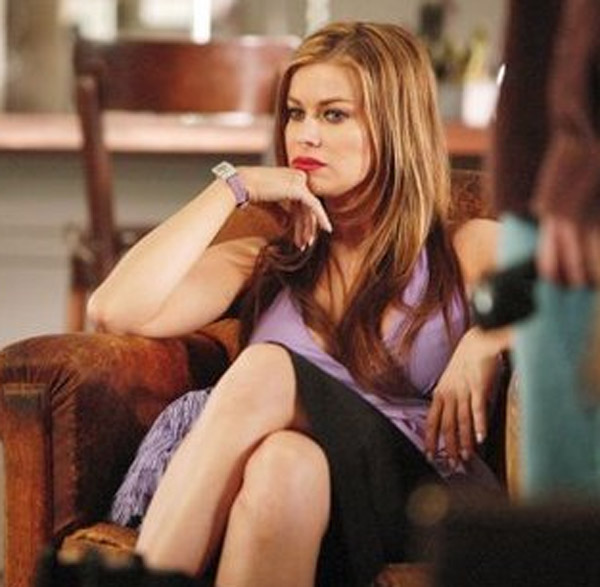 Carmen Electra appears in a scene from the 2006 film 'Hot Tamale.'