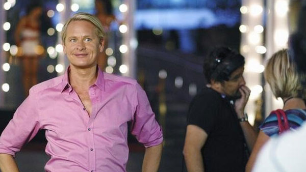 "<div class=""meta ""><span class=""caption-text "">Carson Pressley, 41, rose to fame as the fashion expert on the series 'Queer Eye (for the Straight Guy).' He has also hosted series like 'How to Look Good Naked' and 'True Beauty.'(Pictured: Carson Kressley appears in a still from the 2010 series 'True Beauty.')  (ABC / Sammy Vassilev)</span></div>"