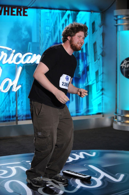 "<div class=""meta ""><span class=""caption-text "">Casey Abrams, a 19-year-old from Idlywild, CA, was made an 'American Idol' Top 24 finalist. (Pictured: Casey James performs in front of the judges on 'American Idol' on an episode that aired on Feb. 2, 2011.) (Michael Becker / FOX)</span></div>"