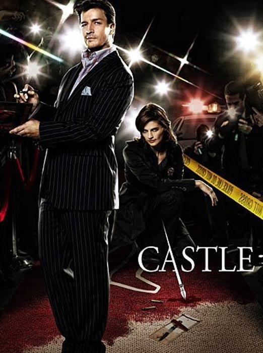 Still image of Nathan Fillion and Stana Katic of...