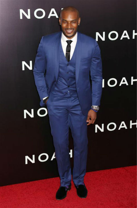 Model Tyson Beckford appears at the premiere of &#39;Noah&#39; in New York on March 26, 2014. He does not appear in the movie, which was directed by Darren Aronofsky. <span class=meta>(Abaca &#47; Startraksphoto.com)</span>