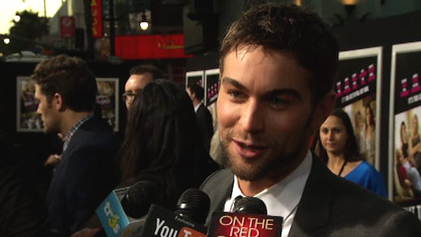 Chace Crawford turns 27 on July 18, 2012. The actor is known for movies such as &#39;Twelve,&#39; &#39;The Haunting of Molly Hartley&#39; and the show &#39;Gossip Girl.&#39;&#40;Pictured: Chace Crawford talks about &#39;Gossip Girl&#39; and &#39;What to Expect When You&#39;re Expecting&#39; at the film&#39;s L.A. premiere in May 2012.&#41; <span class=meta>(OTRC)</span>
