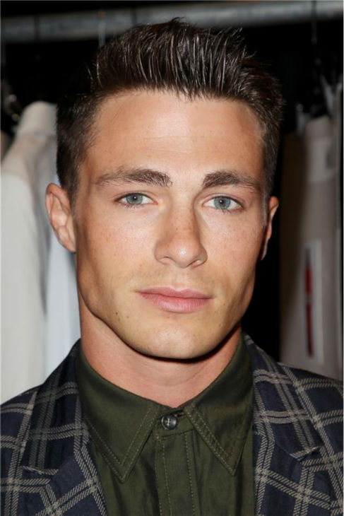 &#39;Teen Wolf&#39; actor Colton Haynes appears at Richard Chai&#39;s fashion show at Lincoln Center in New York, part of the Spring 2014 Mercedes-Benz Fashion Week, on Sept. 5, 2013. <span class=meta>(Amanda Schwab &#47; Startraksphoto.com)</span>