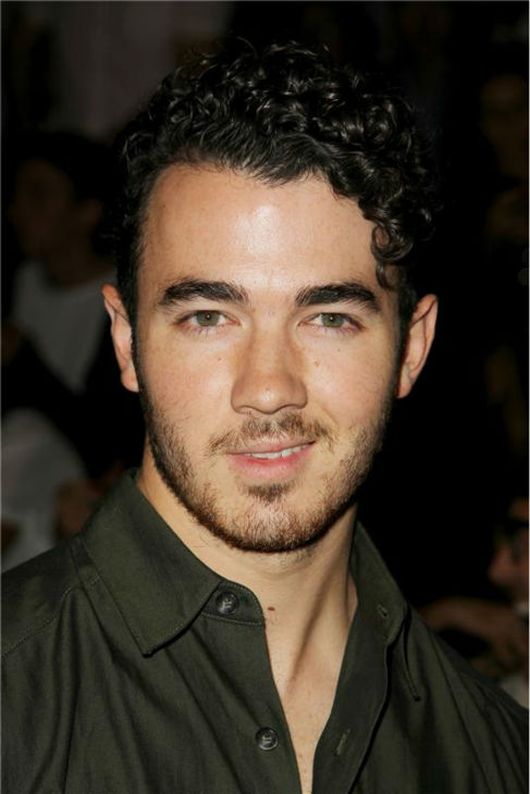 Kevin Jonas appears at Richard Chai's fashion show at Lincoln Center in New York, part of the Spring 2014 Mercedes-Benz Fashion Week, on Sept. 5, 2013.