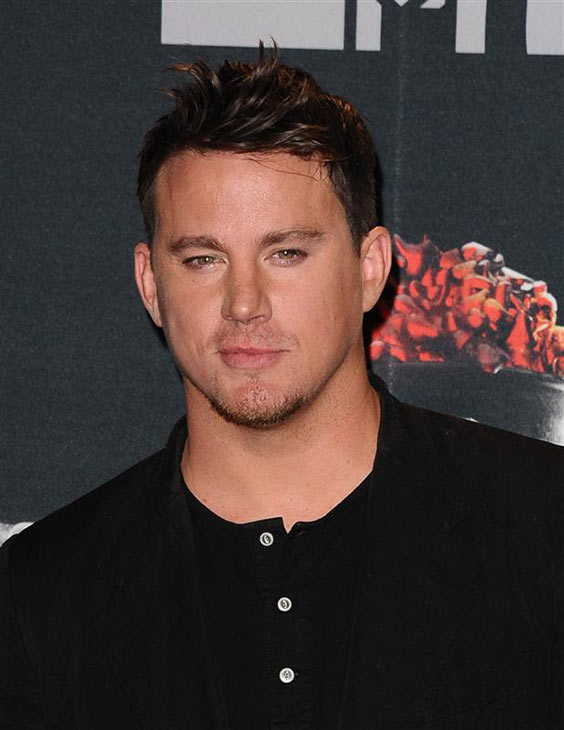 Channing Tatum appears backstage at the 2014 MTV Movie Awards at the Nokia Theatre in Los Angeles on April 13, 2014. He won the Trailblazer award. <span class=meta>(Kyle Rover &#47; Startraksphoto.com)</span>