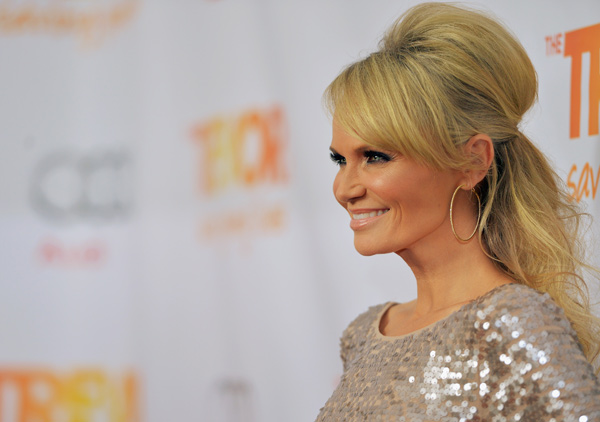 Kristen Chenoweth attends the Trevor Project's...
