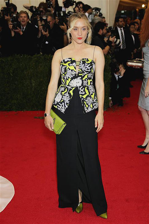Chloe Sevigny appears at the Metropolitan Museum of Art&#39;s 2014 Costume Institute Benefit gala, celebrating &#39;Charles James: Beyond Fashion,&#39; in New York on May 5, 2014. <span class=meta>(Marion Curtis &#47; Startraksphoto.com)</span>