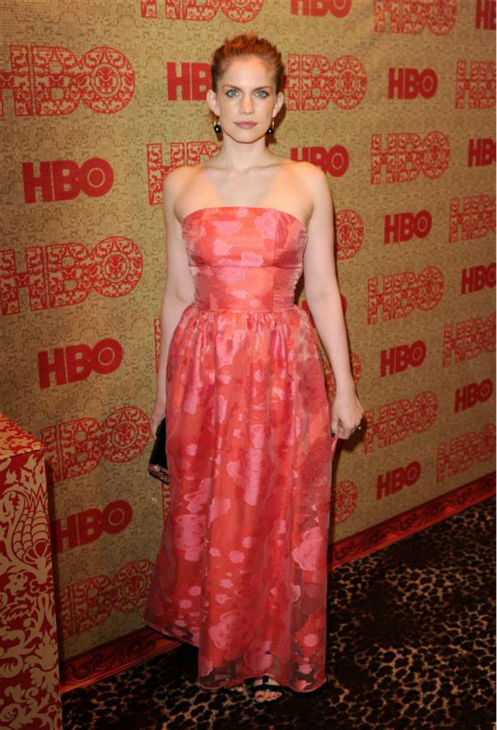 Anna Chlumsky &#40;HBO&#39;s &#39;Veep,&#39; &#39;My Girl&#39;&#41; appears at HBO&#39;s 2014 Golden Globe Awards after party at the Circa 55 restaurant in Beverly Hills, California on Jan. 12, 2014. <span class=meta>(Tony DiMaio &#47; Startraksphoto.com)</span>