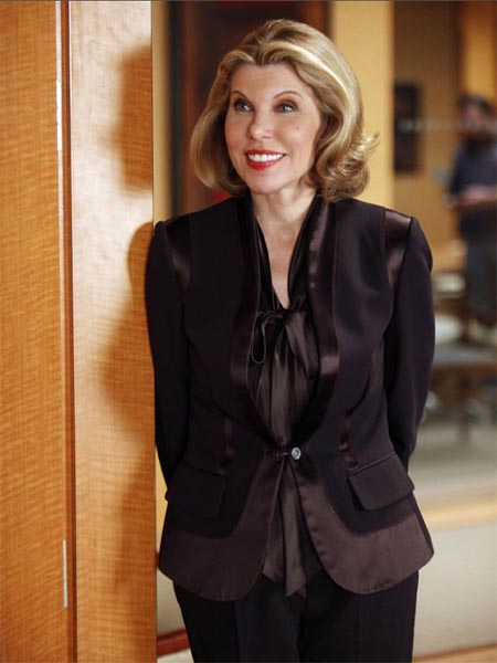 Christine Baranski in a scene from 'The Good...