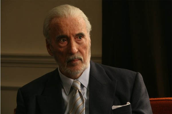 Christopher Lee in a scene from the 2009 film,...