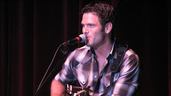 Chuck Wicks appears in a photo from a 2008' performance.