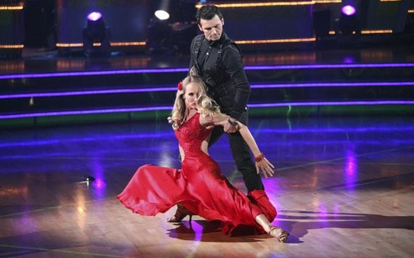 Chynna Phillips returned to the ballroom for a...