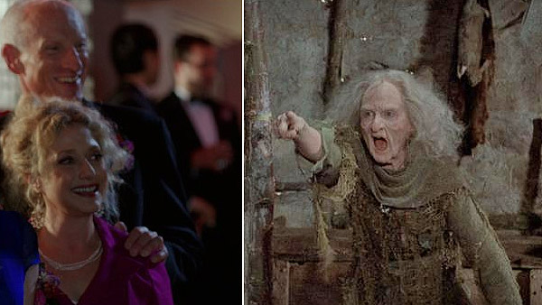 Carol Kane and James Rebhorn appear in a scene...