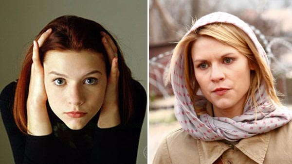 Claire Danes appears in a scene from the 1994 television show 'My So-Called Life.' / Claire Danes appears in a scene from the 2011 show 'Homeland.