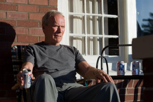 Clint Eastwood in a scene from the 2008 film he starred and directed, 'Gran Torino.'
