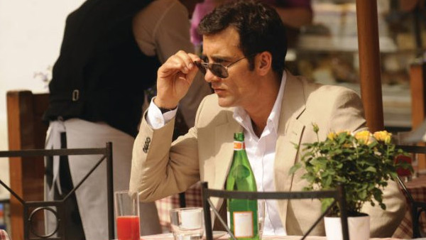 Clive Owen appears in a scene from the 2009 film 'Duplicity.'