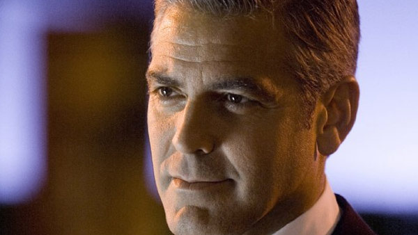 Clooney appears in a scene from the 2001 film 'Ocean's Eleven.'