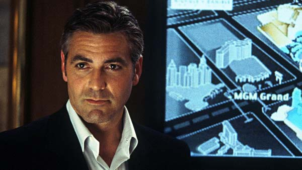 Clooney took the role of Danny Ocean in the 2001 remake of &#39;Ocean&#39;s Eleven.&#39;&#39;Ocean&#39;s Eleven&#39; became a blockbuster hit, making more than &#36;183 million during its 5-month run in theaters.  Pictured: Clooney appears in a scene from the 2001 film &#39;Ocean&#39;s Eleven.&#39; <span class=meta>(Warner Bros. Pictures)</span>
