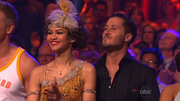 "<div class=""meta image-caption""><div class=""origin-logo origin-image ""><span></span></div><span class=""caption-text"">'Shake It Up' actress Zendaya Coleman and her partner Val Chmerkovskiy prepare to dance on week 2 of 'Dancing With The Stars,' which aired on March 25, 2013. (ABC Photo / Adam Taylor)</span></div>"