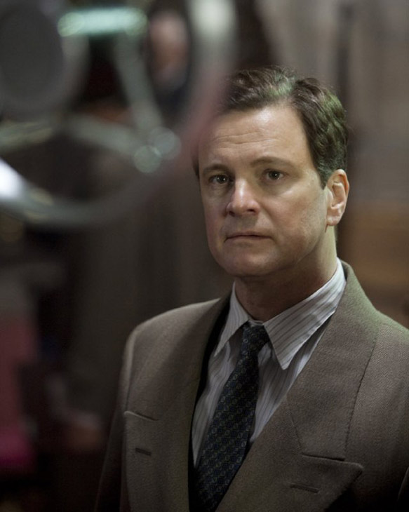 Colin Firth appears in a still from 'The King's...