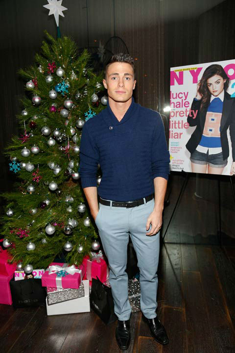 Actor Colton Haynes attends the launch party for...