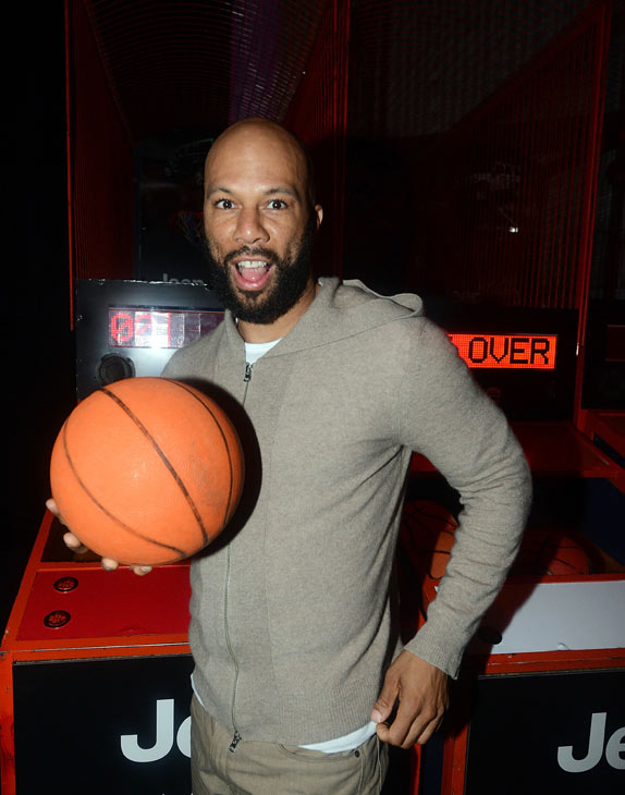 Common attends the launch of the 2012 Jeep Wrangler Unlimited Altitude Edition at the Los Angeles Center Studios on April 22, 2012. Jeep is a sponsor of USA Basketball. Celebrities shot baskets at the Pop-a-Shot and danced to beats spun by DJ Biz Markie. <span class=meta>(WireImage &#47; Chris Weeks)</span>
