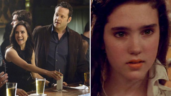 ennifer Connelly (Beth), Vince Vaughn (Ronny) and Kevin James (Nick) appear in a scene from the 2011 movie 'The Dilemma.' / Jennifer Connelly (Sarah) appears in a scene from the 1986 movie 'Labyrinth'.)