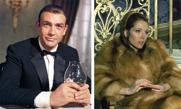 When Playboy magazine asked Daniel Craig in November of 2008 who was the best actor that played James Bond, Daniel Craig said Sean Connery. He said that he liked the other films, but thought Connery was &#39;fantastic.&#39; When asked who the best Bond girl was, Craig said it was Diana Rigg because &#39;she was the one Bond girl who was nearly bigger than the movie.&#39;&#40;Pictured: Sean Connery, known for films like &#39;Indiana Jones and the Last Crusade&#39; &#40;1989&#41;, appears in a scene from &#39;Goldfinger&#39; &#40;1964&#41;. Diana Rigg, known for films like &#39;The Avengers,&#39; &#40;1969&#41; appears in a scene from &#39;On Her Majesty&#39;s Secret Service&#39; &#40;1969&#41;&#41; <span class=meta>(Eon Productions)</span>