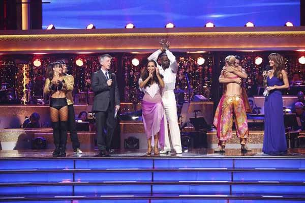 "<div class=""meta ""><span class=""caption-text "">Contestants appear on 'Dancing With The Stars: The Results Show' on October 16, 2012. (ABC Photo)</span></div>"